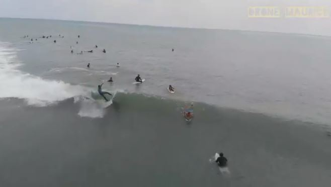 Vigilance forte houle : Les surfeurs de Tamarin bravent l'interdit !