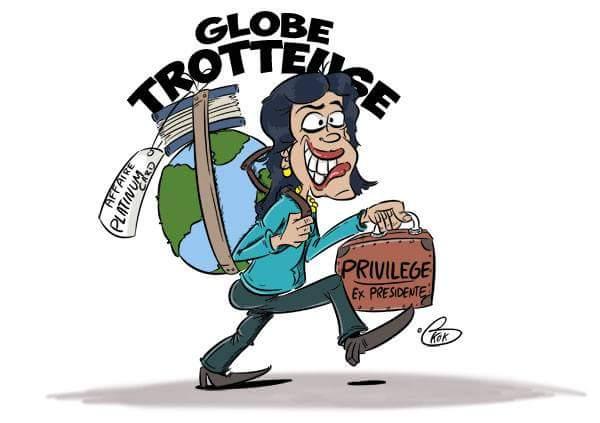 [KOK] Le dessin du jour : Globe-Trotteuse