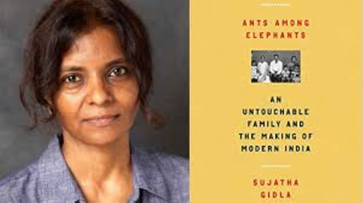 An interview with writer, Sujatha Gidla, author of 'Ants Amongst Elephants' by Rattan Gujadhur