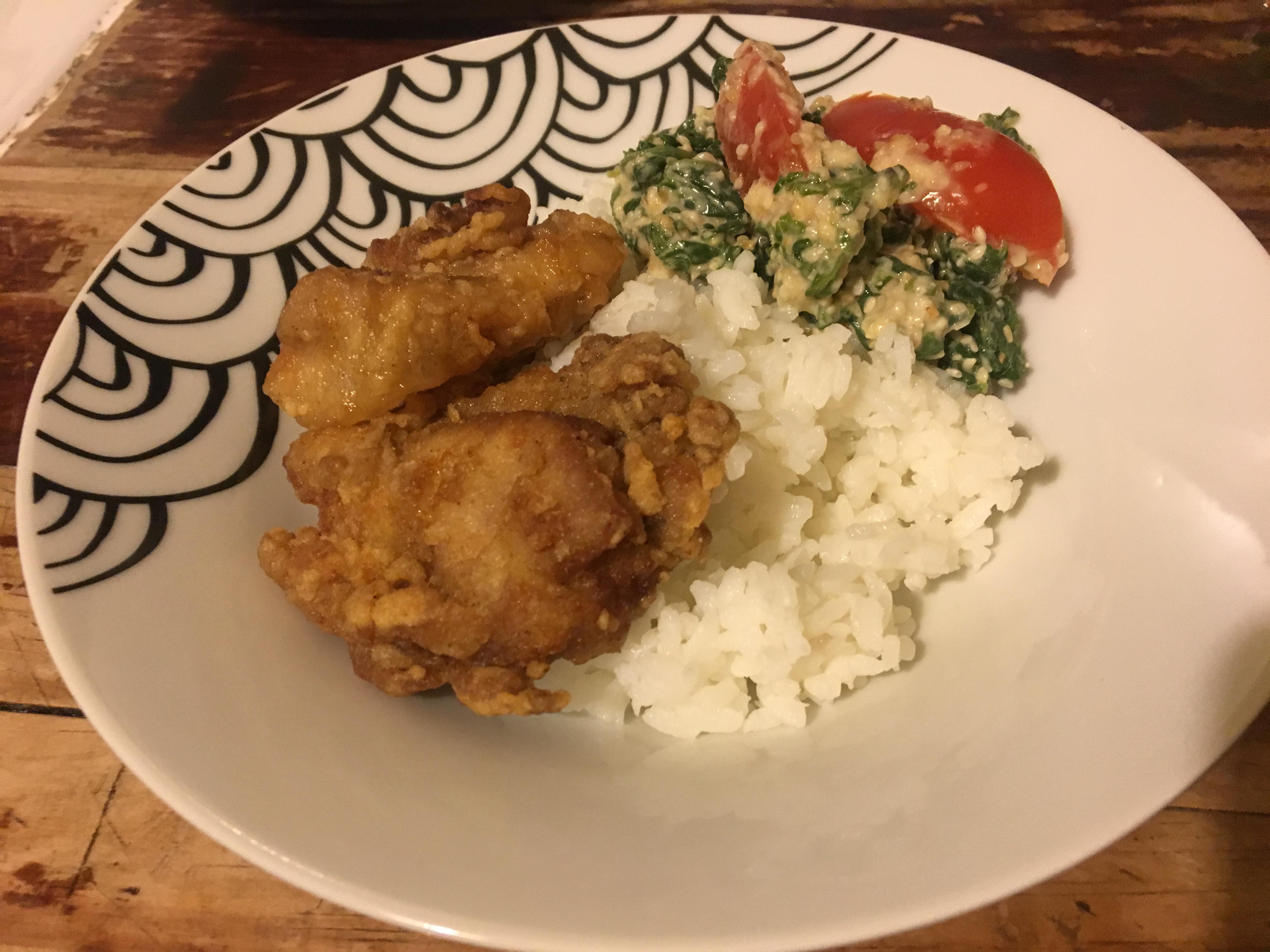 La recette de Oummé : Le poulet karaage (Ka – ra – agué)