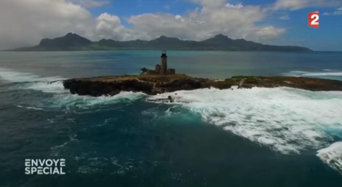 L'île Phare, île Maurice.