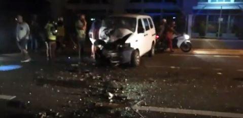 Accident grave à Cité Vallijee en direction de Port-Louis
