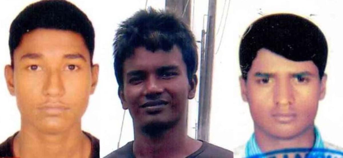 Avis de recherche de la police pour retrouver trois ressortissants bangladais