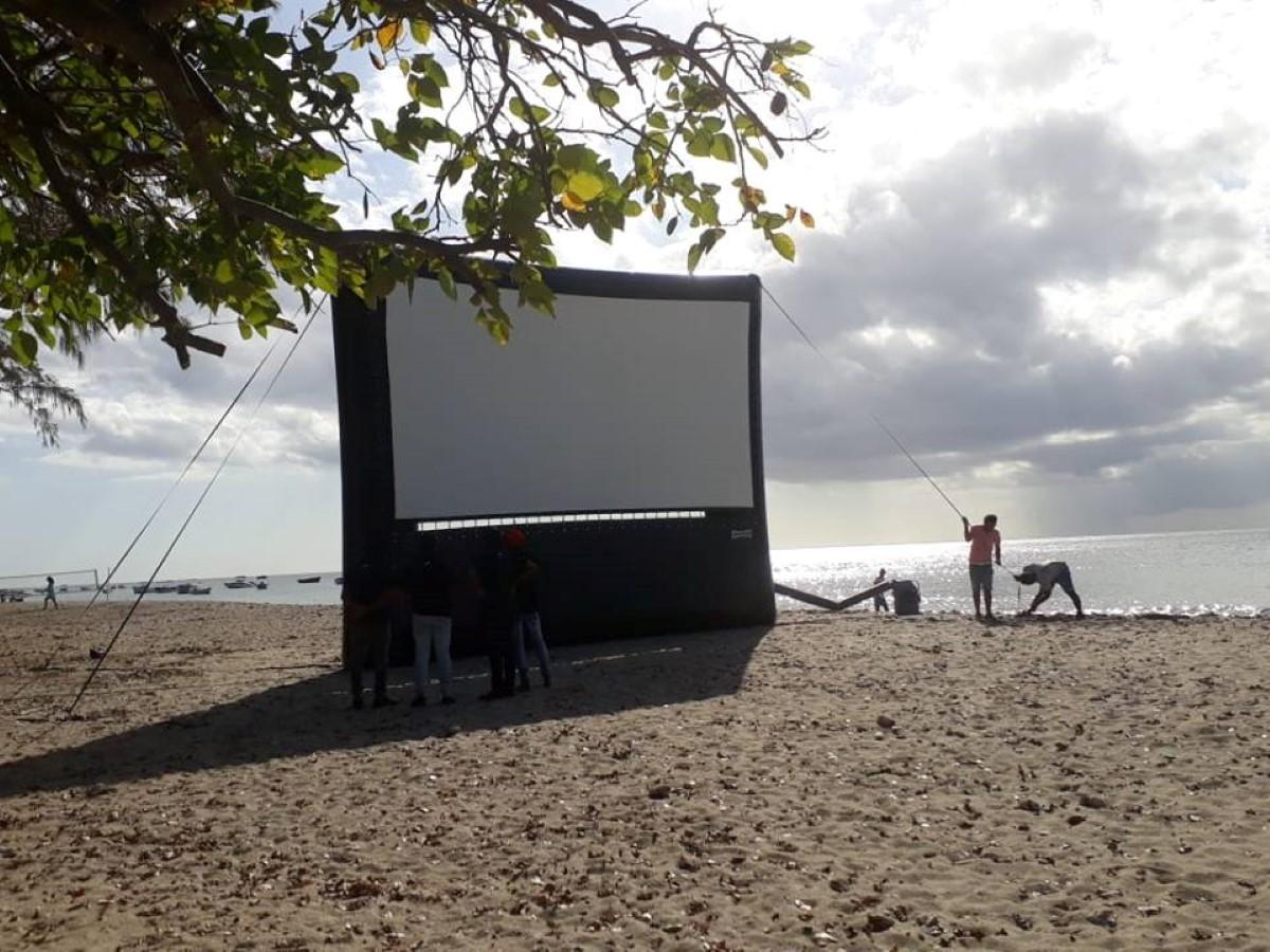 Festival Ile Courts 2018 : Sinema Koltar#3 à la Baie de Tamarin