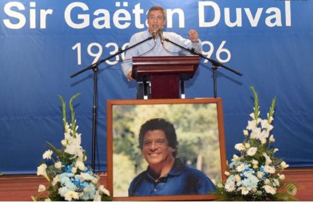 Le leader du PMSD, Xavier Duval affirme qu'il gagnera la prochaine élection.