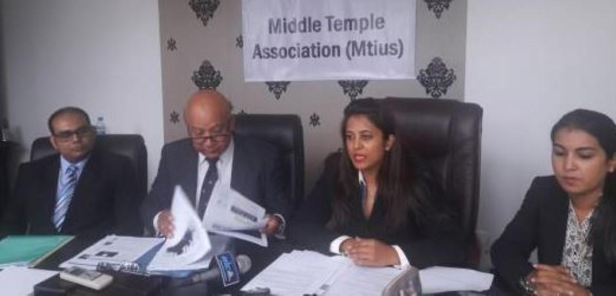 La Middle Temple Association (Mauritius) souhaite une haute cour d'appel à Maurice