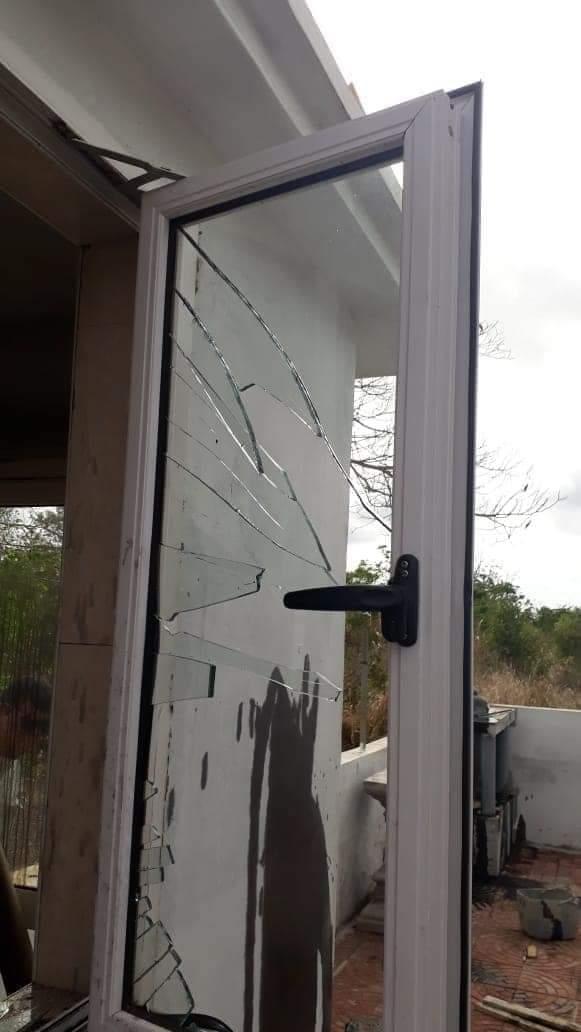 [Diaporama] Triolet : Nouveau acte de vandalisme dans un lieu de culte