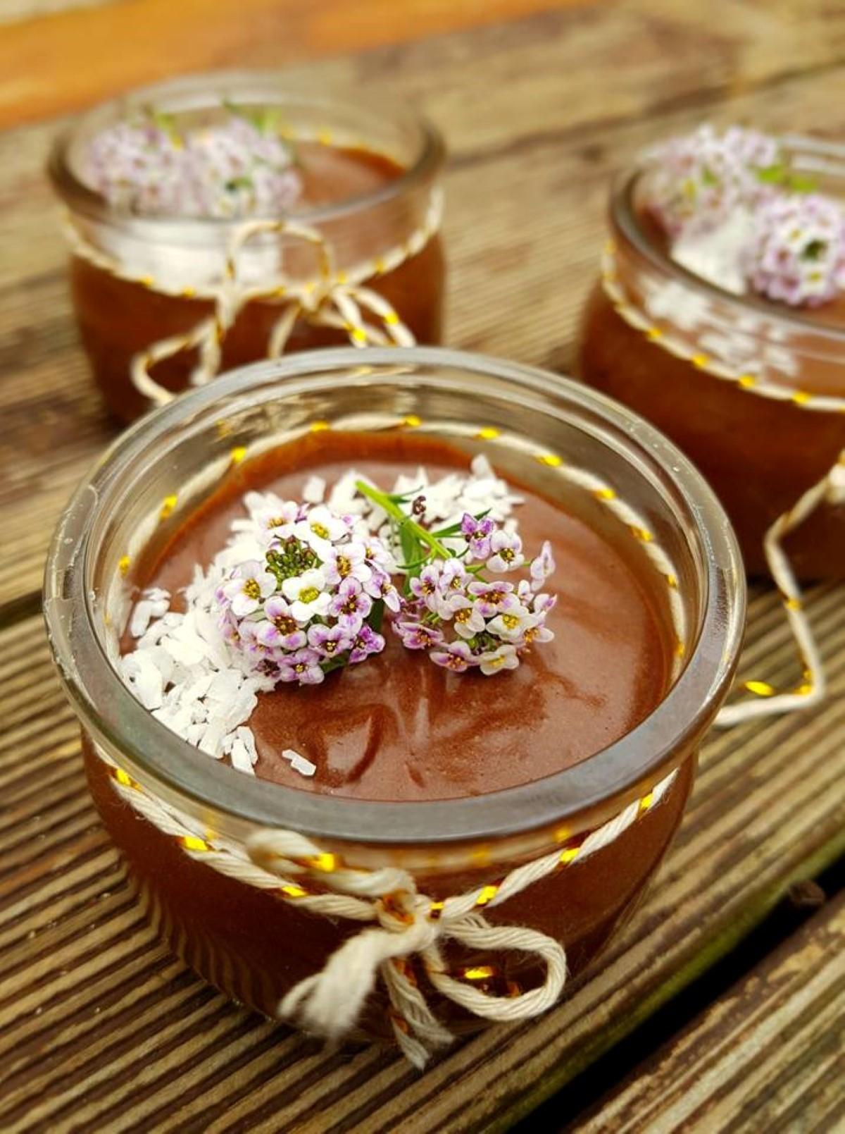 La recette de Emma Healthy Fit : Mousse au chocolat noir Vegan
