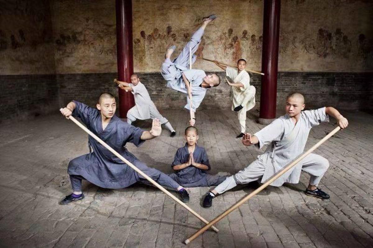 [Diaporama] Des maîtres Shaolin au Chinatown de Maurice