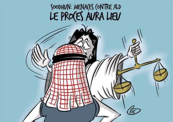 [KOK] Le dessin du jour : Menaces de mort contre Xavier Duval, le procès aura lieu