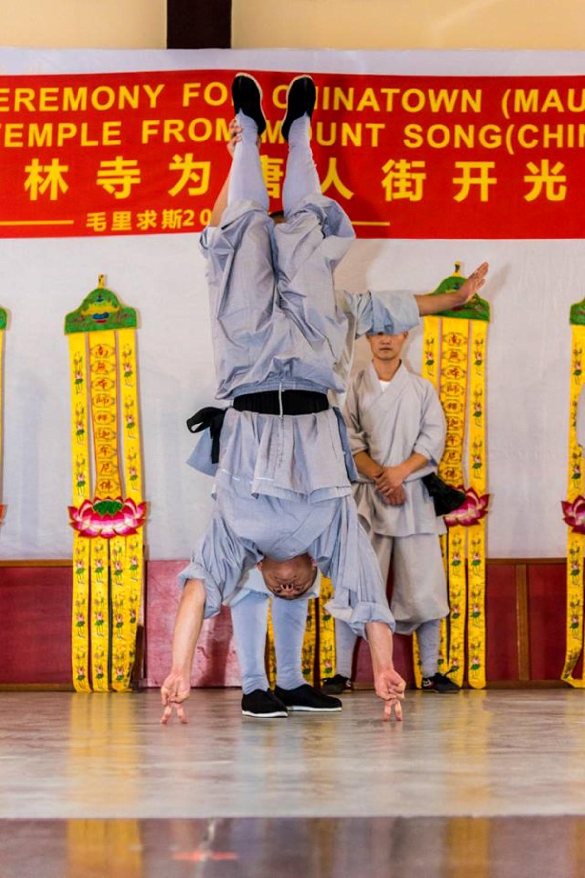 [Diaporama] Cérémonie de bénédiction du Chinatown de Maurice par le Grand Maître Shi Yan Zhi