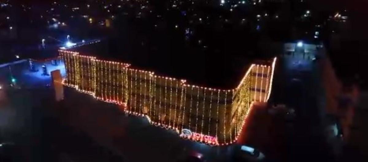 [Drone] Les lumières de Divali à Vacoas