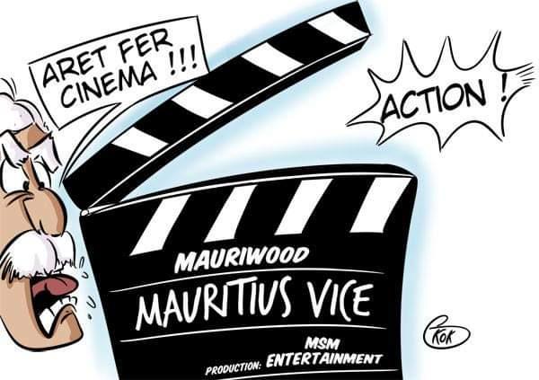 """[KOK] Le dessin du jour : MSM Entertainment Production : """" Arret fer cinéma"""" !"""