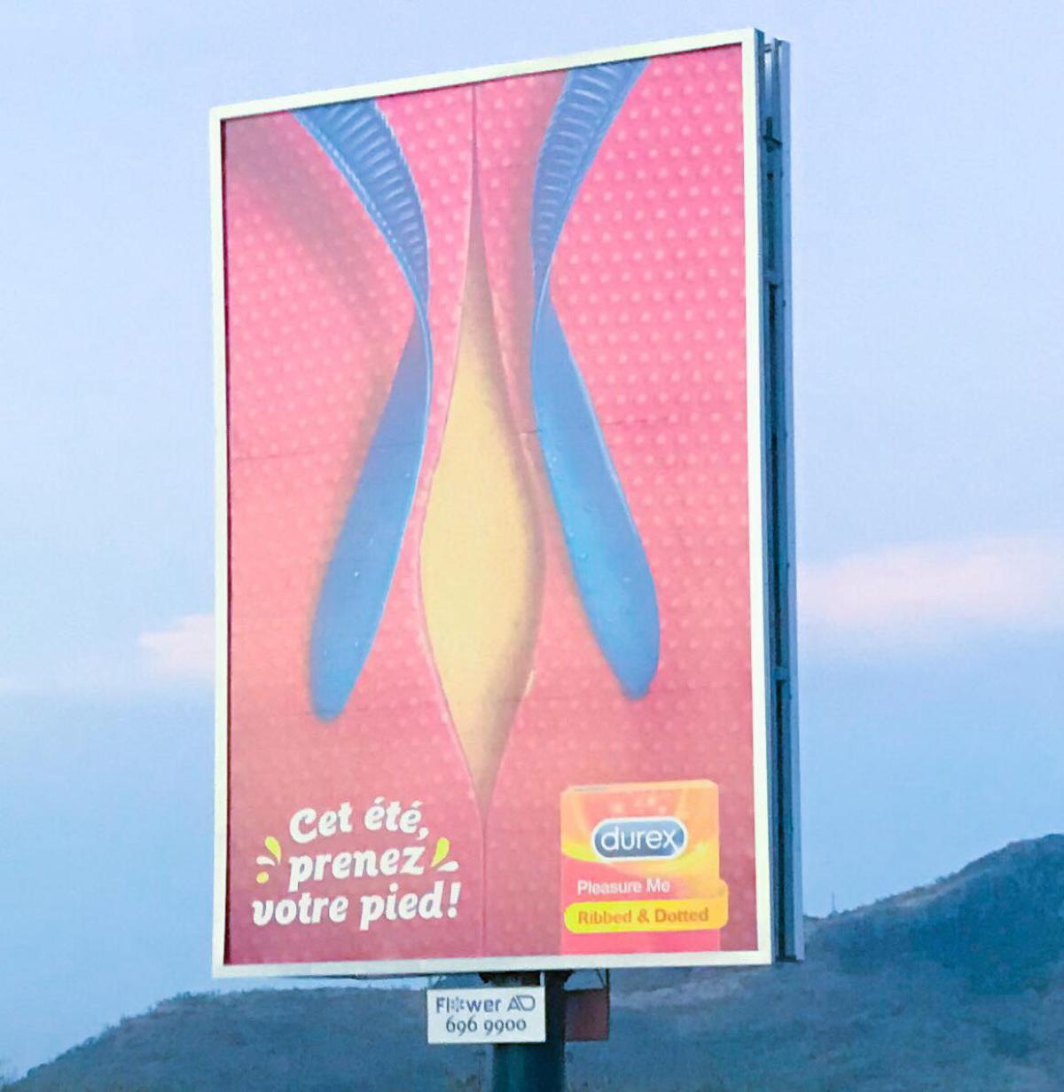 Une campagne publicitaire de Durex fait la polémique