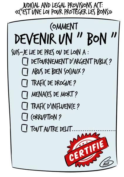 """L'actualité vu par KOK : Le """"bon"""" mauricien selon l'alliance Lepep"""