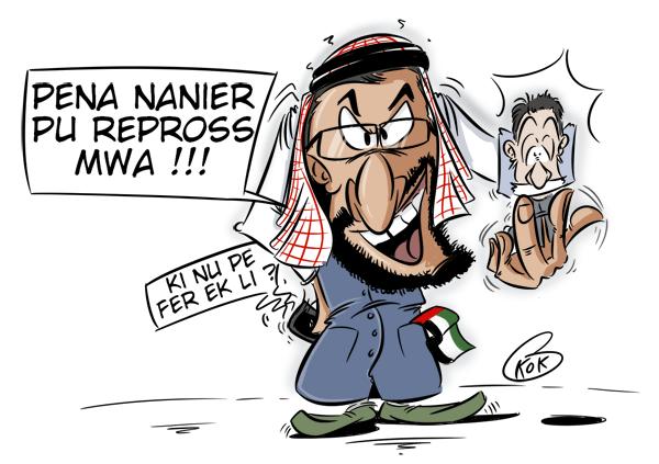 L'actualité vu par KOK : Dubaïgate !