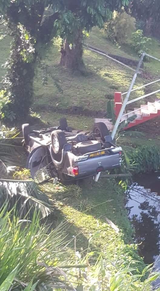 Accident à St Pierre : Deux blessés