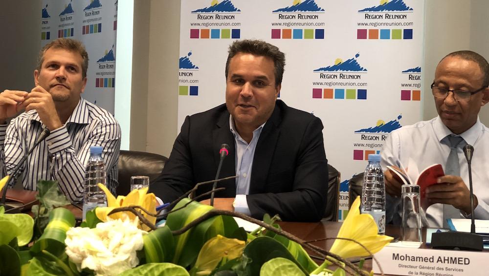 Le président de la Région Didier Robert