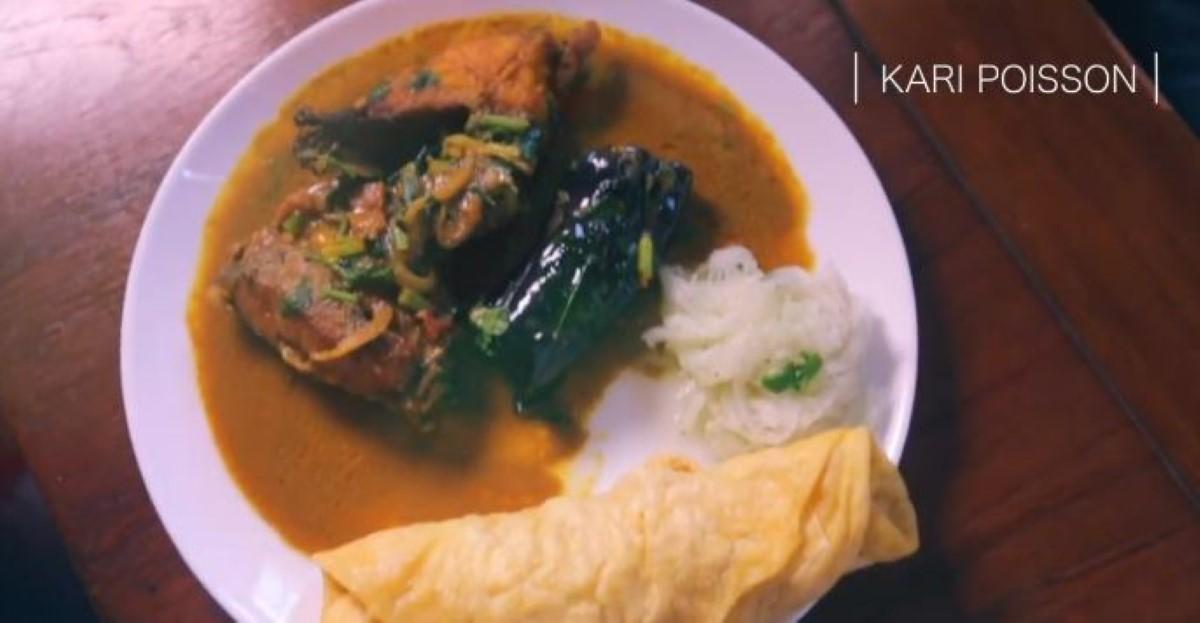 [Vidéo] La recette de Dewa & Sons Dholl Puri : Curry Poisson et Bringelles