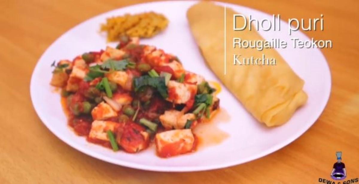 [Vidéo] La recette de Dewa & Sons Dholl Puri : Rougaille Teokon