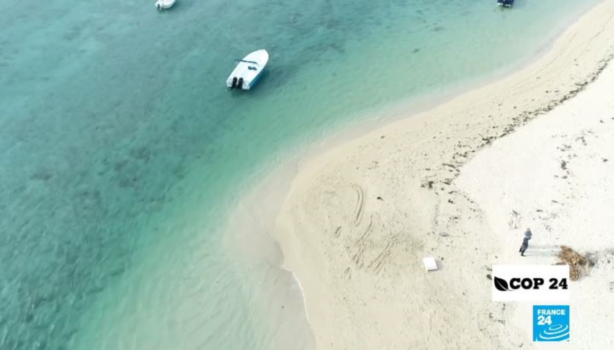 [Vidéo] Emission France 24 : Ile Maurice, les plages menacées par la montée des eaux