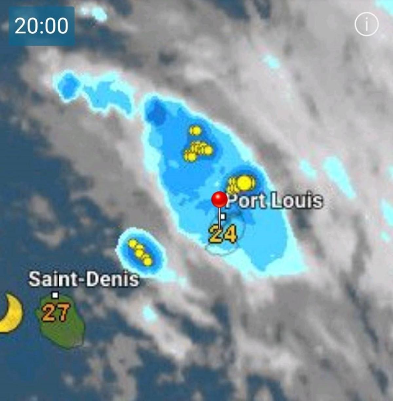 Météo : Le Nord de l'île sous une tempête électrique