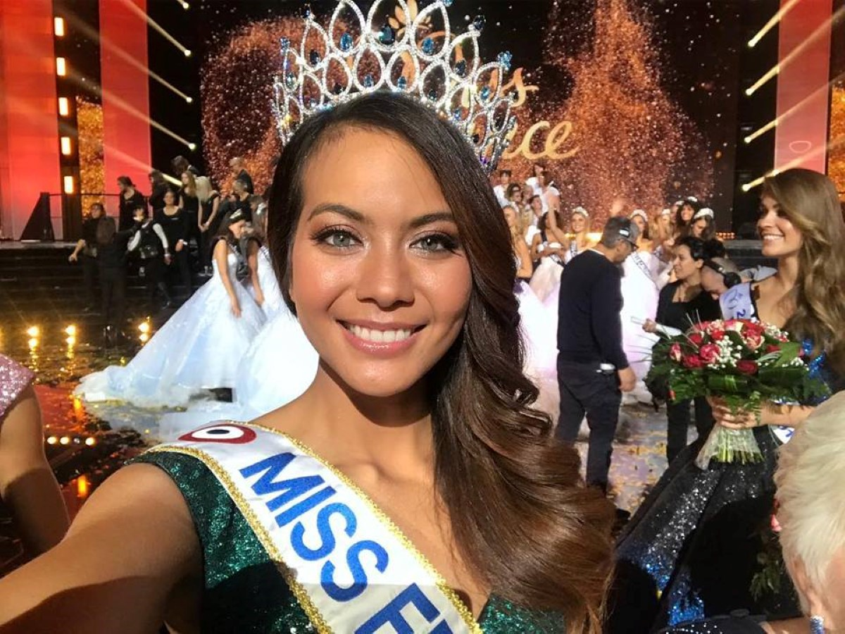 Page officielle Miss France 2019.