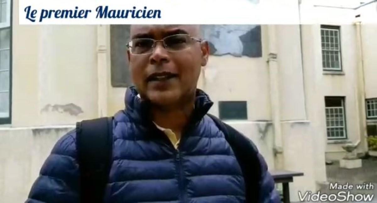 [Vidéo] Le Premier Mauricien par Alain Jeannot