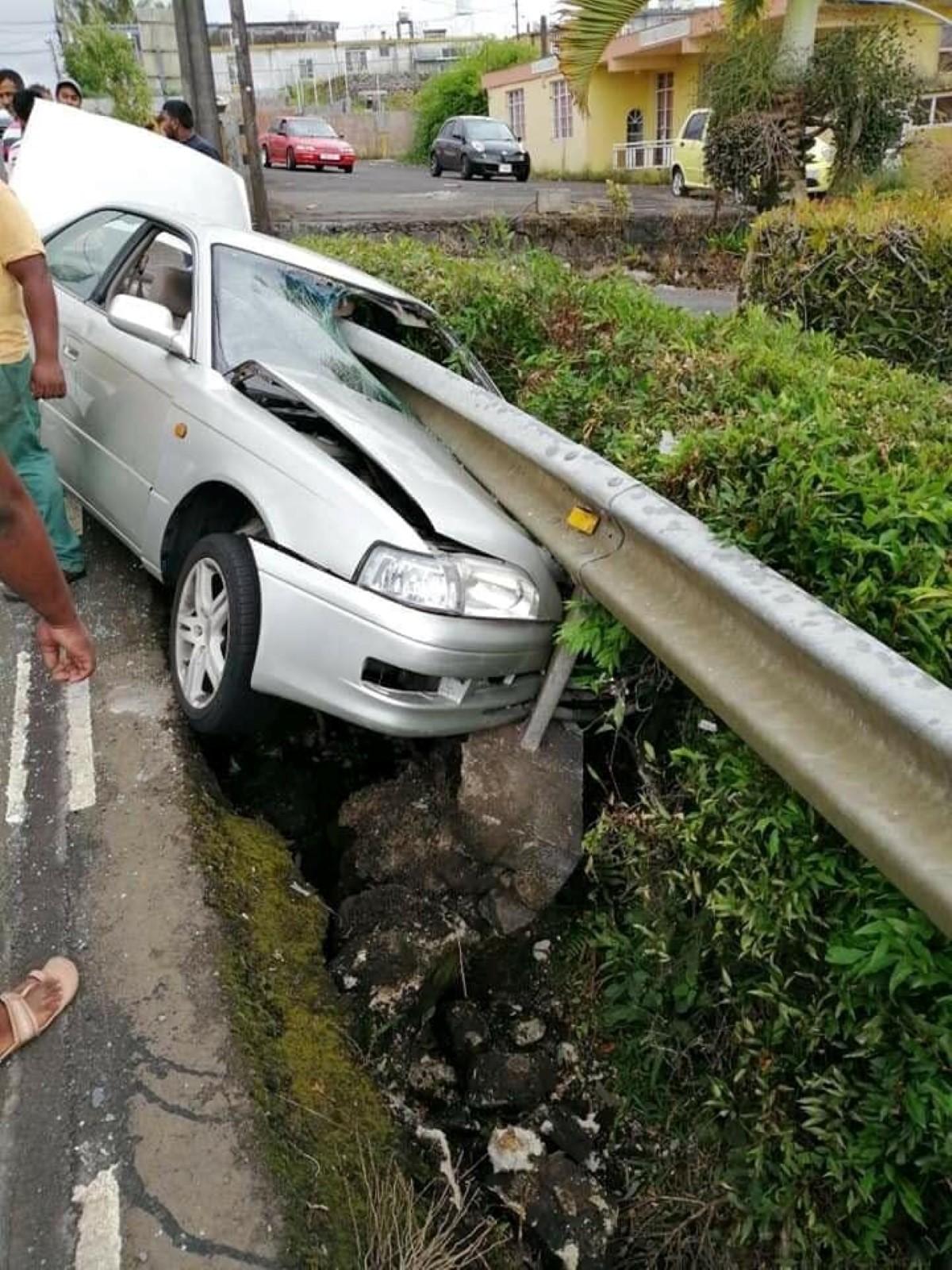 Accident de la route à Union Park : Un blessé léger