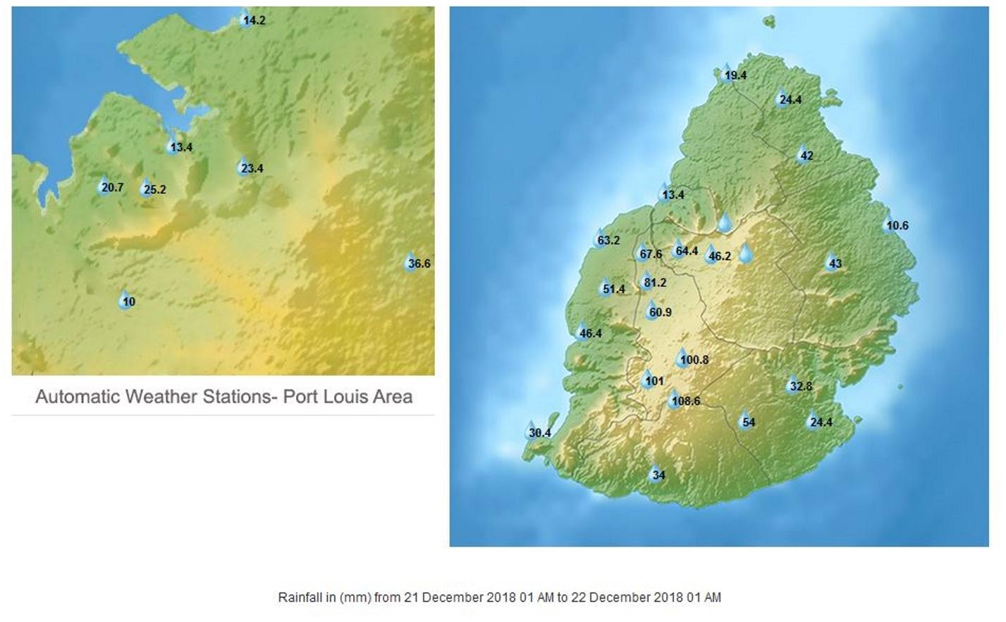 Le cyclone intense CILIDA se rapproche lentement de Maurice