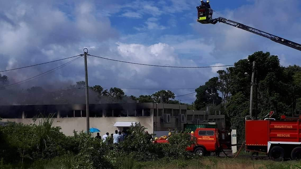 Les dégâts de l'incendie de St Pierre estimés à Rs 27 millions