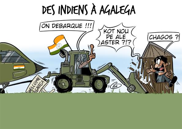 [KOK] Le dessin du jour : Des Indiens à Agaléga !