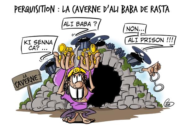 [KOK] Le dessin du jour :  La caverne de Ali Baba de Rasta
