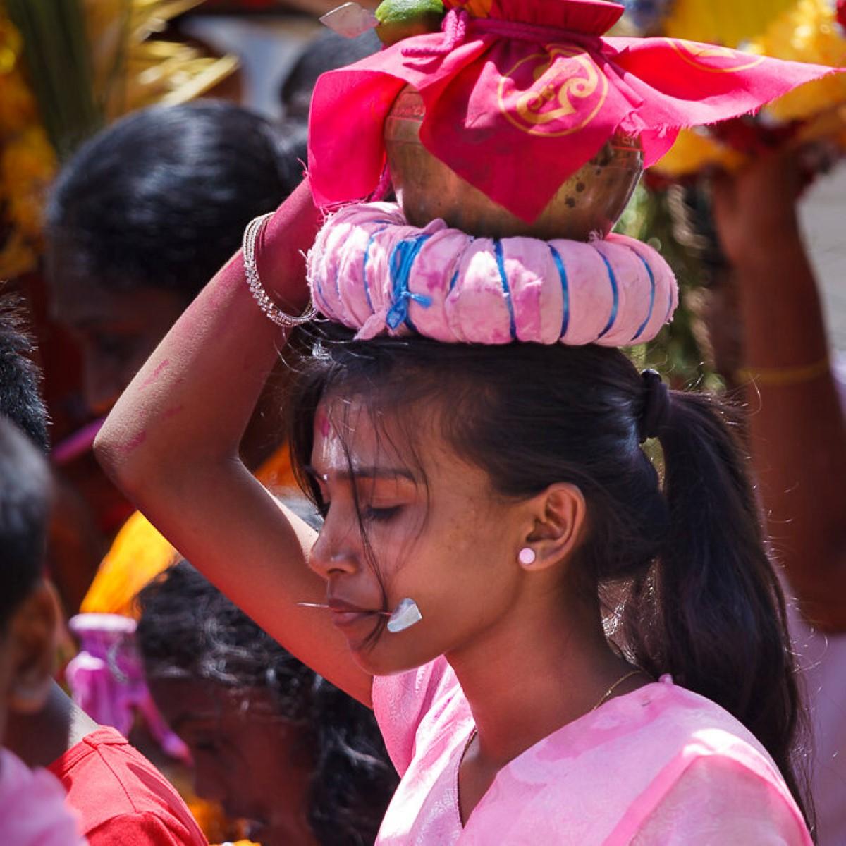Le Thaipoosum Cavadee est célébré ce lundi