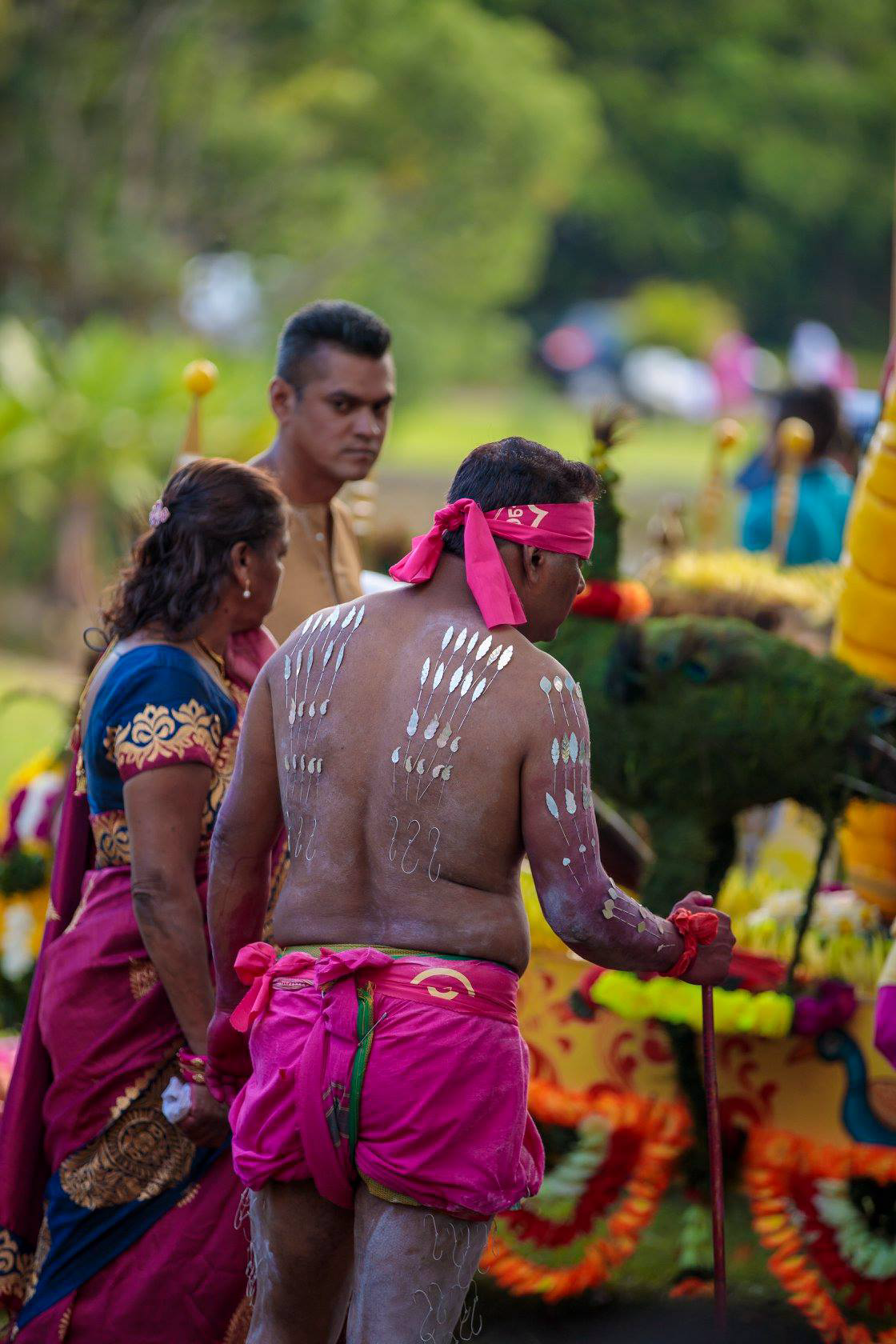 [Diaporama] Thaipoosam Cavadee célébré à Camp Caval, Plaines Wilhems