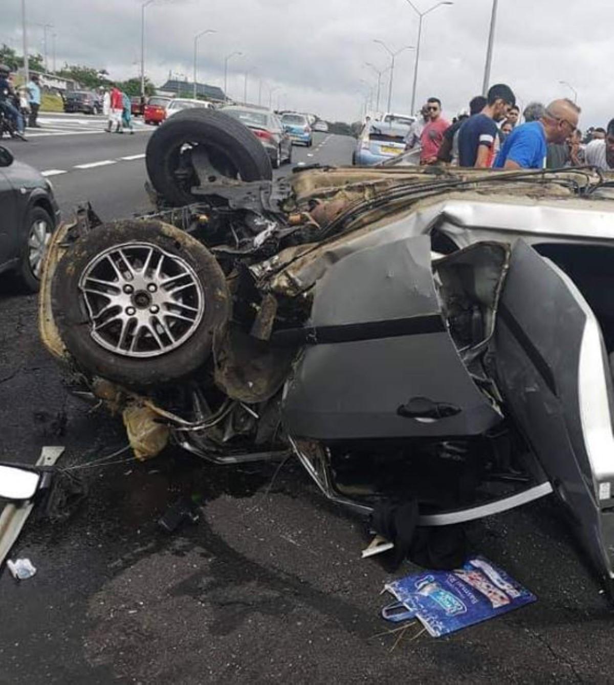 Accident à Bagatelle : Le conducteur se rendait à l'hôpital pour rendre visite à son épouse qui doit accoucher
