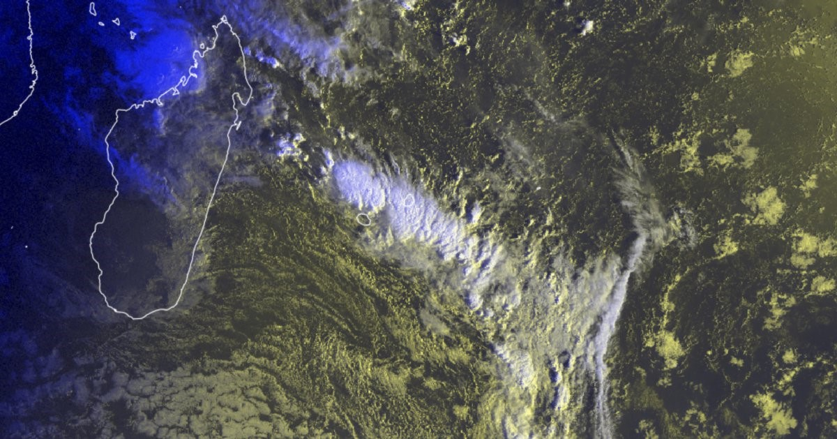 Source : Météo France Océan Indien / Mauritius Meteorological Services