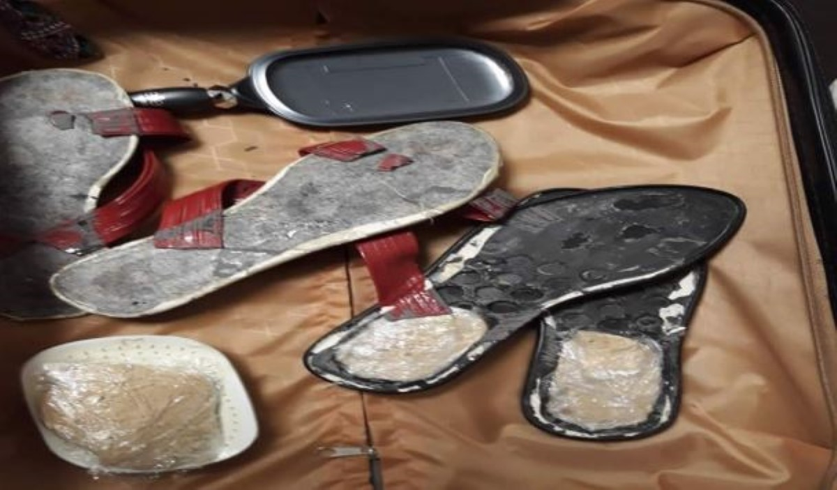 Plaisance : Une Malgache arrêtée avec Rs 1,4 million d'héroïne dans ses sandalettes