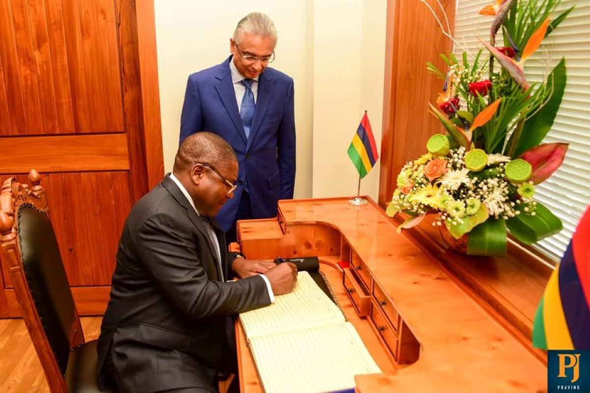 Musée de l'esclavage: Pravind Jugnauth sollicite l'aide du Mozambique