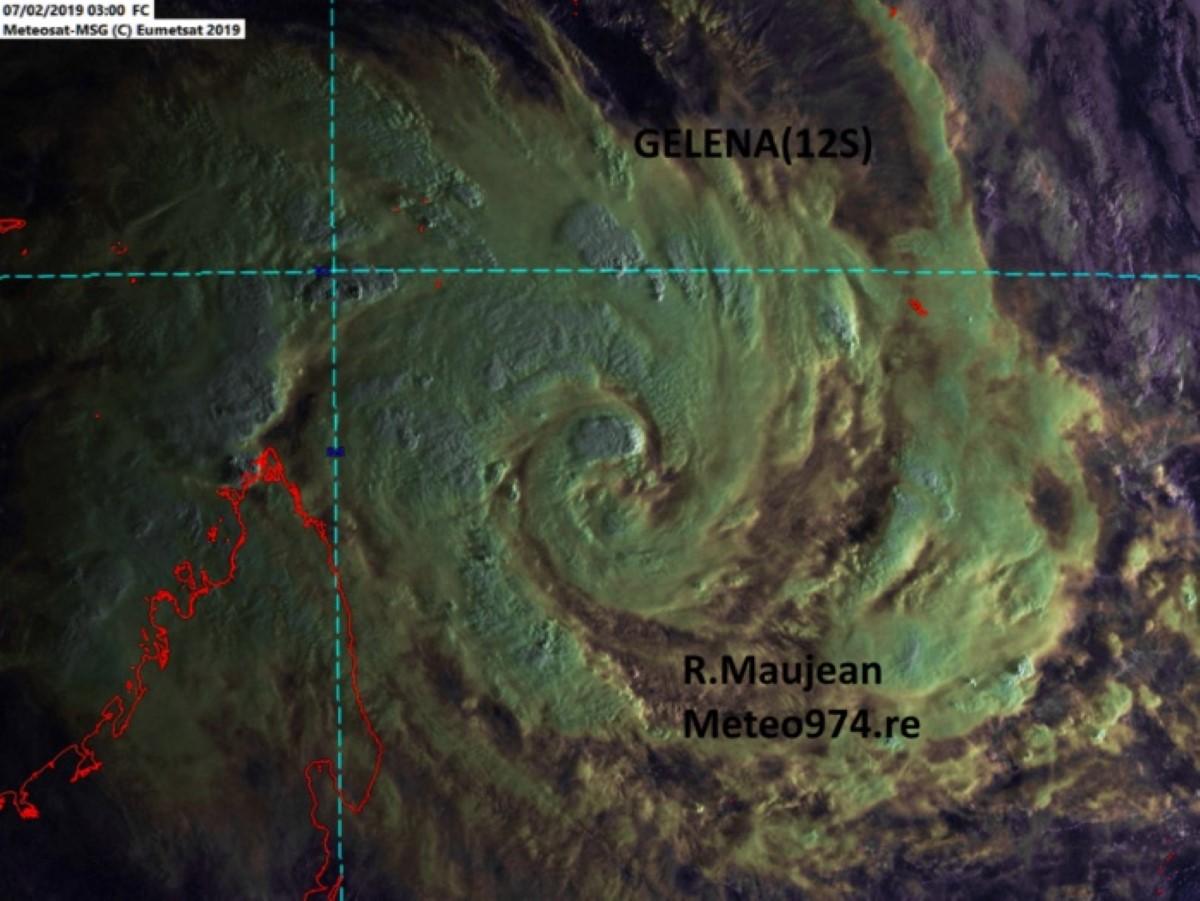Photo satellite de 7h ce matin.