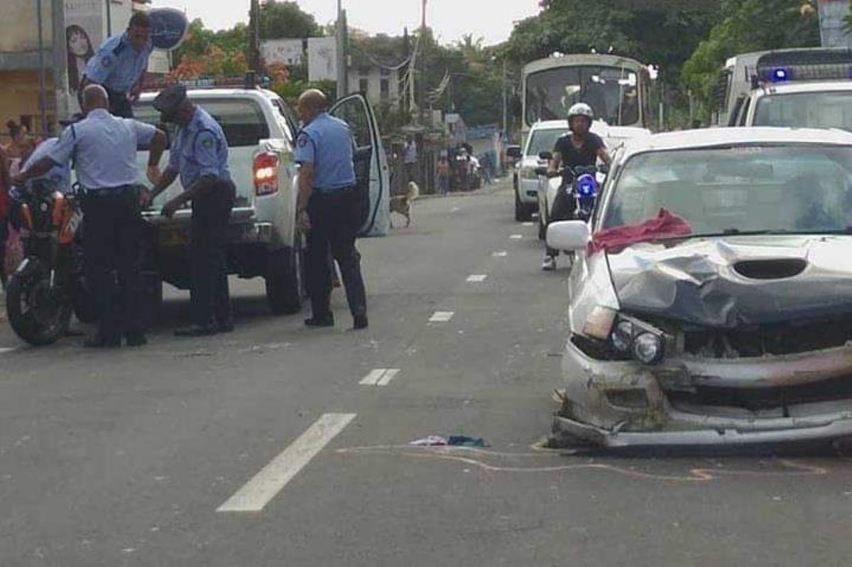 Accident à Palma : Collision entre une voiture, un motocycliste décède