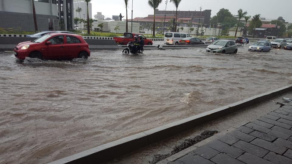 [Vidéo] Port-Louis était sous l'eau ce dimanche