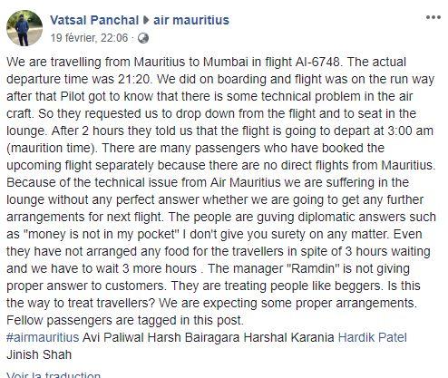 [Vidéo] Mumbai : Renvoi du vol MK 749, la colère des passagers crée la pagaille à l'aéroport