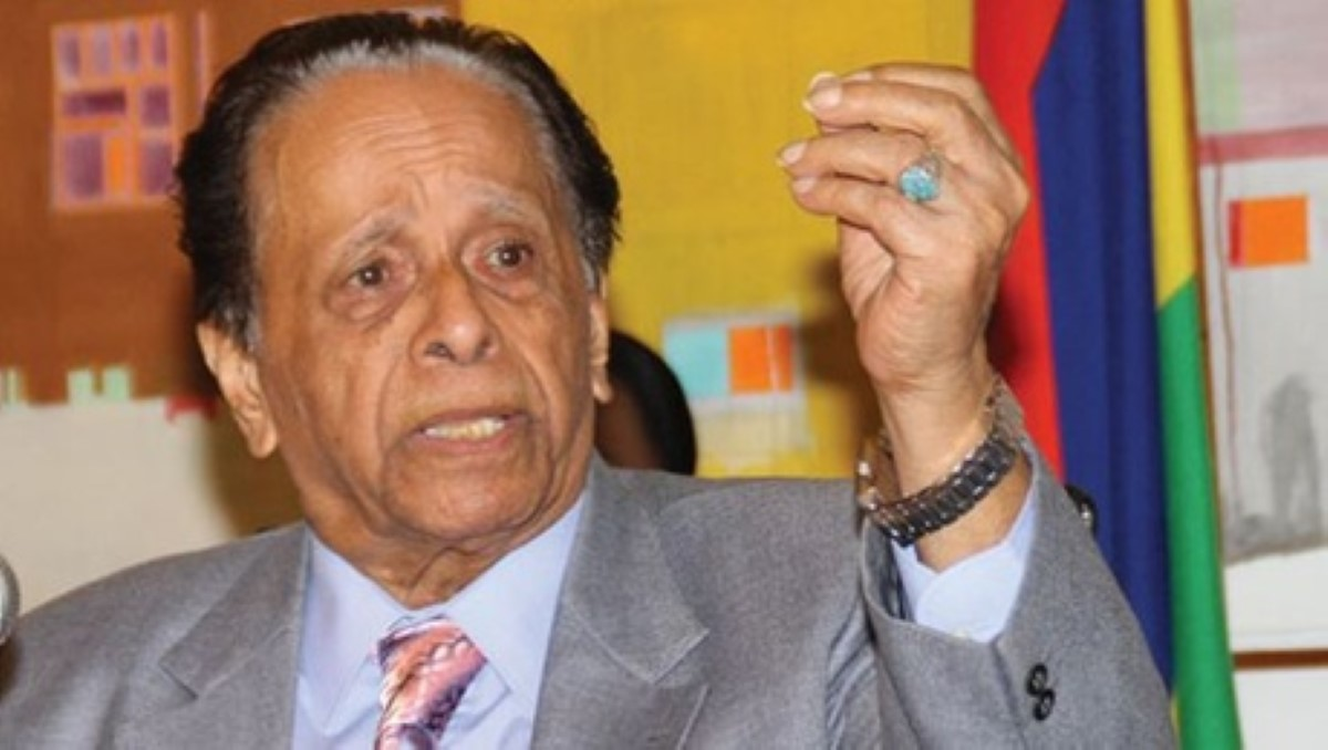 Verdict Medpoint : la réaction de Jugnauth Senior