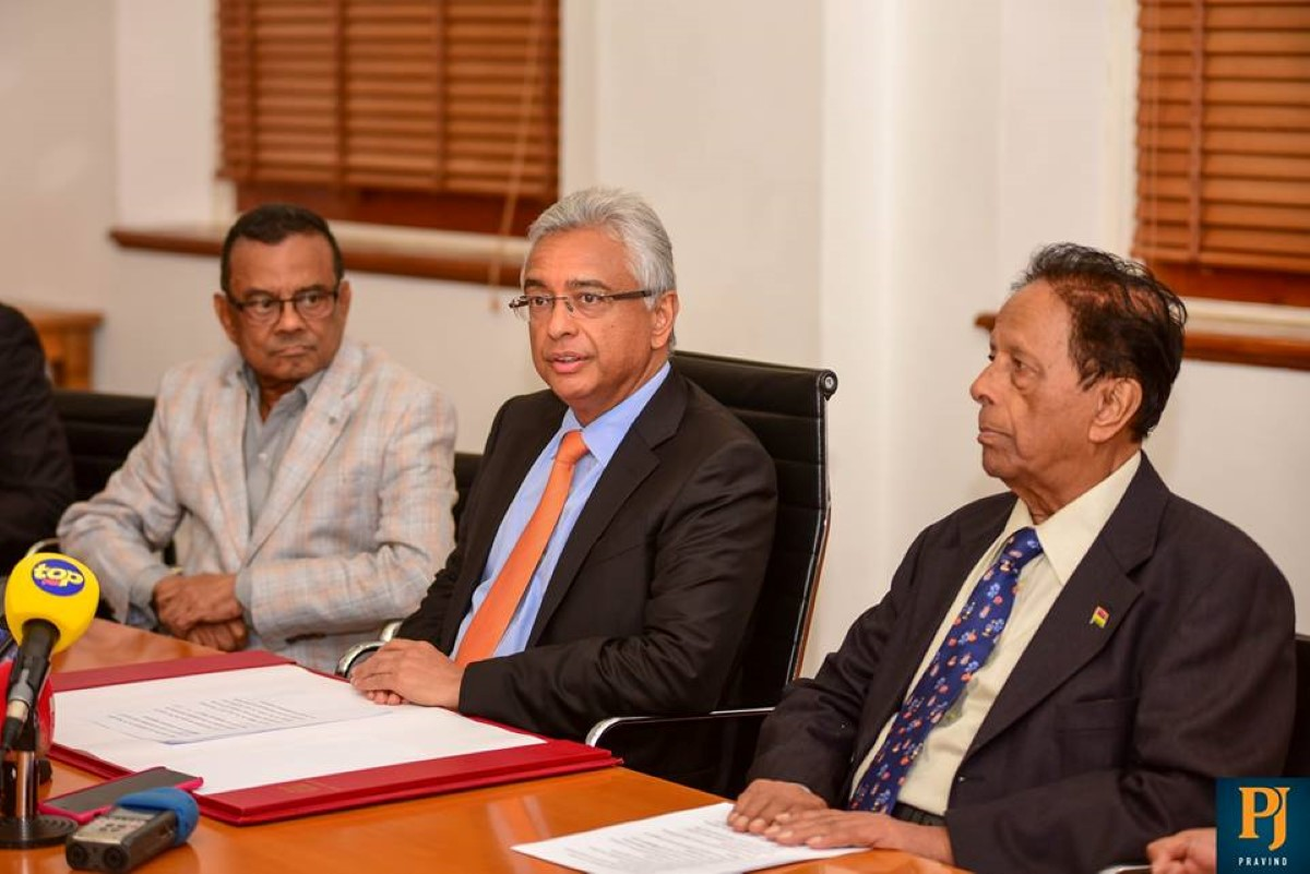 Chagos avis consultatif du CIJ : Sir Aneerood Jugnauth «C'est un jour mémorable »