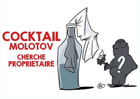 [KOK] Le dessin du jour : Cocktail Molotov cherche propriétaire