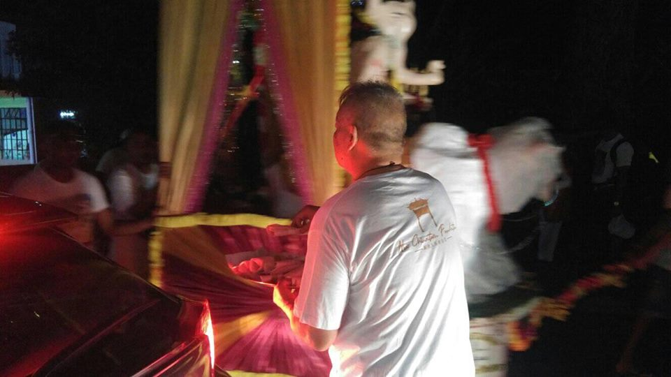 Maha Shivaratri à Chinatown : Pays arc-en-ciel !