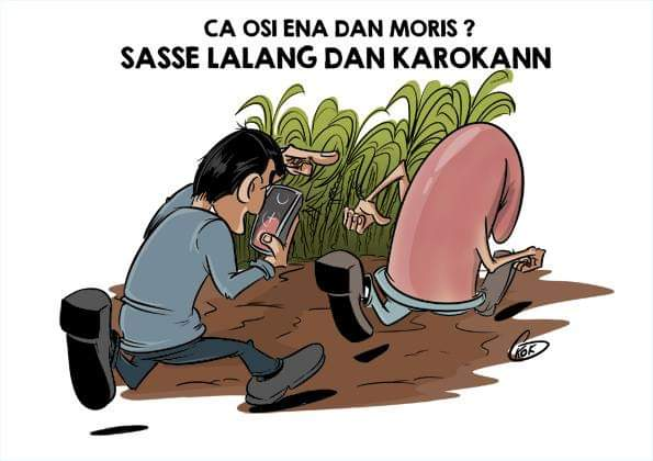 [KOK] Le dessin du jour : Sasse lalang dan Karokann