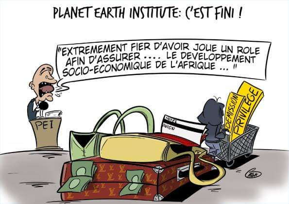 [KOK] Le dessin du jour : Planet Earth Institute, c'est fini !