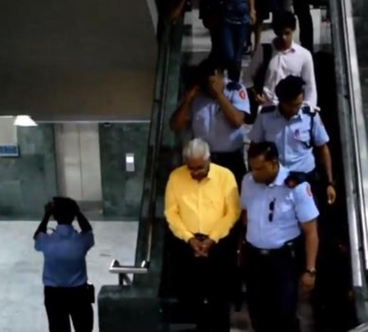 Pot-de-vin de Rs 200 à un policier :  Geanchand Dewdanee en cours ce jeudi